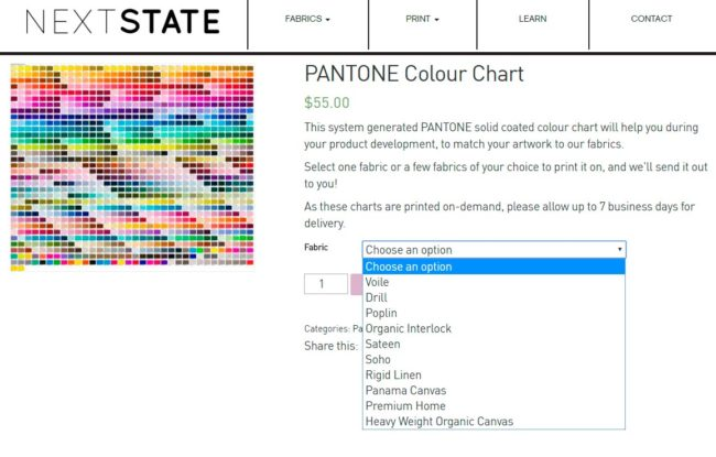 Colour Matching With PANTONE | Next State
