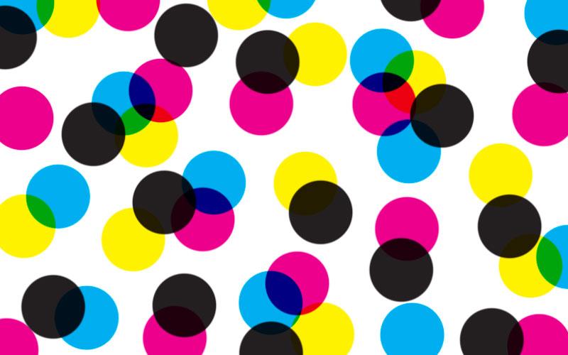 Colour Modes - RGB and CMYK: CMYK Example