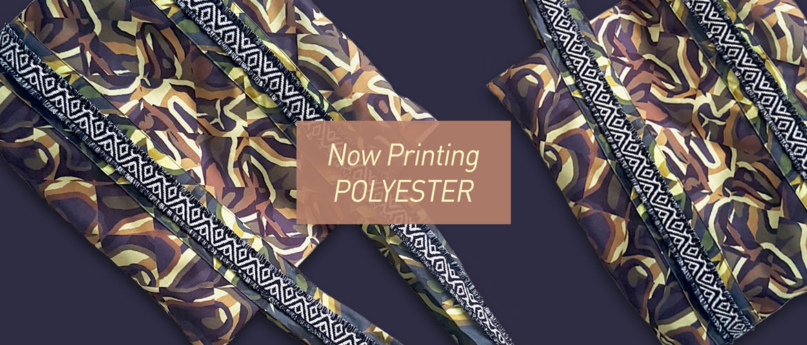 Now Printing Polyester!